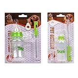 Mundopet Nursing Feeding Bottle Nipple Brush Kit for Pet Dog Puppy Cat Kitten (L 150ml)