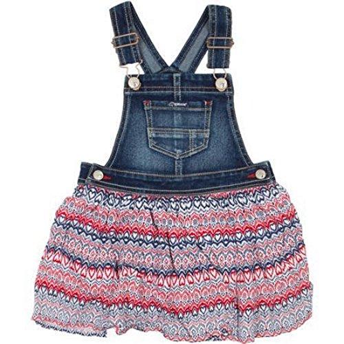 jordache-jeans-girls-toddler-red-white-blue-skirtall-size-5t