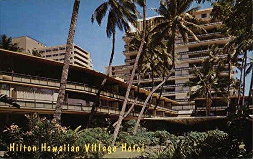 Hilton Hawaiian Village Hotel Honolulu Original Vintage Postcard