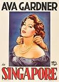 Singapore Movie Mini Poster #01 11x17 Ava Gardner