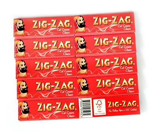 ZIG-ZAG-Red-Cut-Corners-rolling-paper-10-booklets-x-60-600-papers