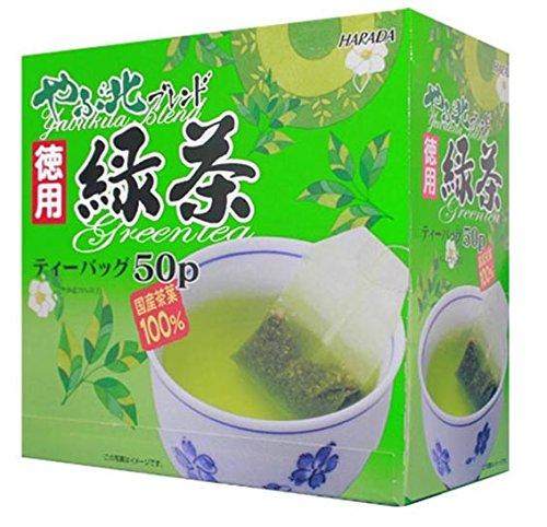ハラダ製茶 やぶ北ブレンド徳用緑茶 2g×50