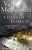 Front cover for the book A Darker Domain by Val McDermid