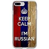 Keep Calm I%27m Russian Russia Flag IPho