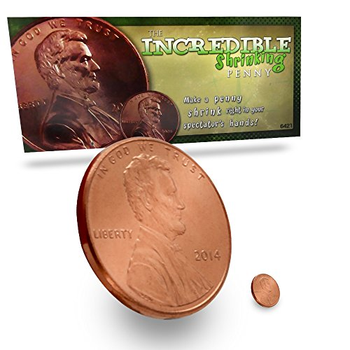 Magic Makers Incredible Shrinking Penny Trick ()