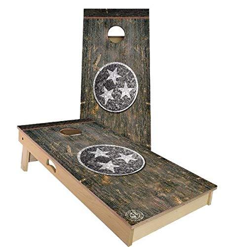 激安単価で Skip's Weather Garage テネシー 素朴な州旗 B07N4CJHZR コーンホールボードセット - サイズとアクセサリーをお選びください Bags)|G.付属品 - ボード2枚、バッグ8枚など B07N4CJHZR B. 2x3 Boards (All Weather Bags)|G.付属品 (2) ライト + (1) スコアコンボ B. 2x3 Boards (All Weather Bags), ニキチョウ:bb0a7807 --- staging.aidandore.com