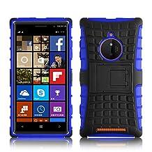 Lumia 830 Case - ALLIGATOR Heavy Duty Rugged Back Cover for Nokia Lumia 830, Blue