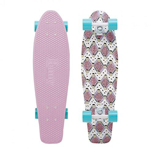 """Penny Nickel Complete Skateboard, Buffy, 27"""""""
