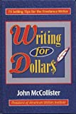 Writing for Dollars, John McCollister, 0824604865