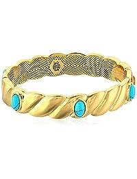 House of Harlow 1960 Ribbed Valda Bangle Bracelet