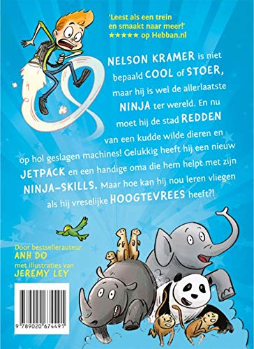 Ninja Kid. de vliegende Ninja: Amazon.es: Anh Do, Jeremy Ley ...