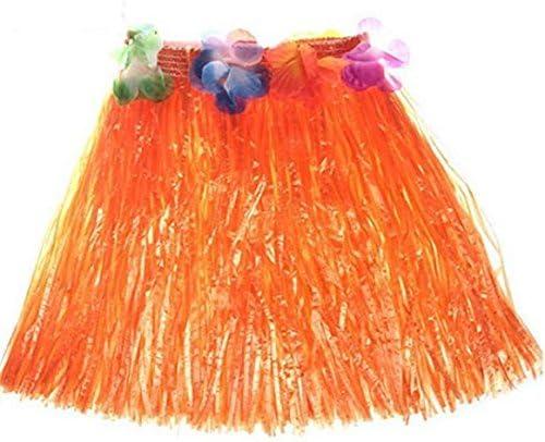 Kentop - Falda Hawaiana para Disfraz Hawaiano, Color Rosa, tamaño ...