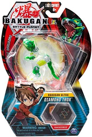 BAKUGAN ULTRA Battle Planet Diamond TROX New