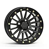 ITP SD Beadlock Machined/Matte Black ATV Wheel Front/Rear 14x7 4/156 - (4+3)