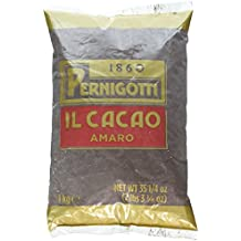 Pernigotti Cocoa - 1 Kg (2.2 lbs) - from the famed Italian chocolate maker, dark, rich, with a hint of vanilla