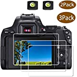 Canon Rebel SL3 Screen Protector for Canon EOS Rebel SL3 DSLR Camera & Hot Shoe Cover, [2+3Pack] ULBTER 0.3mm 9H…