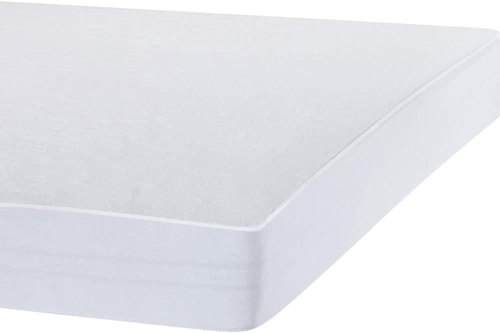 Bedecor Prot/ège Matelas Imperm/éable et Respirante de Blanc Flanelle 60 cm x 120 cm