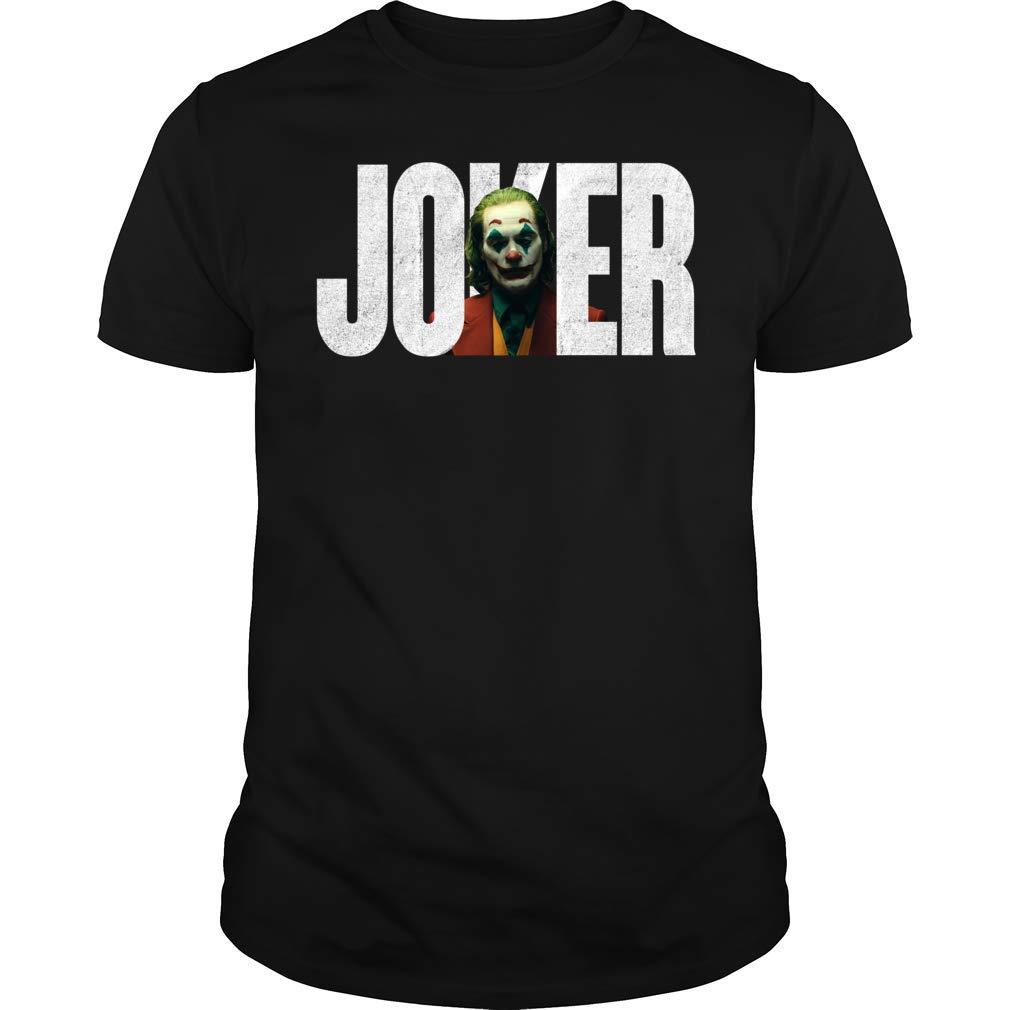 Joaquin Joker 2019 Halloween Horror Characters Movie Gift Men Women Shirts