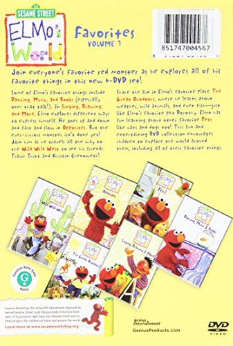 Amazon Com Best Of Elmo S World Collection Various Movies
