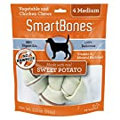 SmartBones Sweet Potato Dog Chew, Medium, 4 pieces/pack