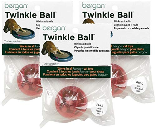 Bergan 3 Pack of Motion Activated LED Twinkle Balls
