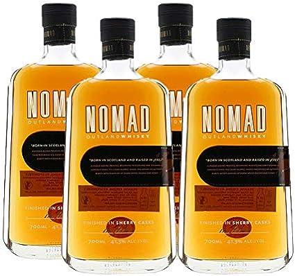 Whisky Nomad de 70 cl - D.O. Jerez - Bodegas Gonzalez Byass (Pack de 4 botellas)