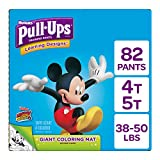 Pull ups Learning Designs Potty Training Pants for Boys, 4t-5t (38-50 Lb.), 82 Ct.