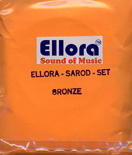 Sarod Strings, Roselu Ellora, Professional, with Sympathetic (Tarabh) Strings by Ellora
