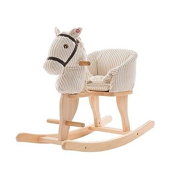 Tremendous Amazon Com Aay Newplush Rocking Horse Lamb Rocker For Inzonedesignstudio Interior Chair Design Inzonedesignstudiocom