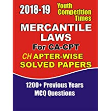2018-19 MERCANTILE LAW: FOR CA-CPT (20180906 Book 190)