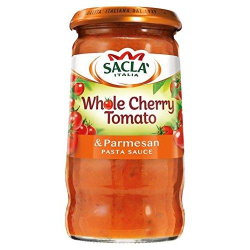 Sacla Total 350 g Salsa de tomate cherry y queso parmesano Pasta