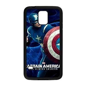 taoyix diy C-EUR Customized Print Captain America 2 Hard Skin Case Compatible For Samsung Galaxy S5 I9600