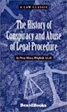 img - for The History of Conspiracy and Abuse of Legal Procedure (Law Classic) by Percy Henry Winfield (2001-09-01) book / textbook / text book