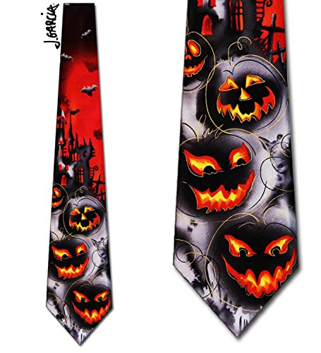 Jerry Garcia (Demon) tie Mens (Jerry Garcia Halloween Ties)