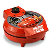 Disney Pixar Cars DPC-258 Waffle Maker, One Size, Red