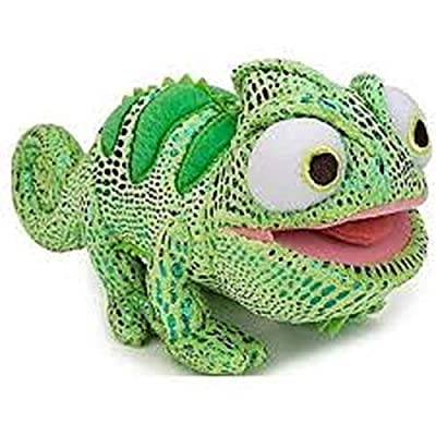 Disney Tangled Pascal the Chameleon Mini Bean Bag Plush - Green: Toys & Games