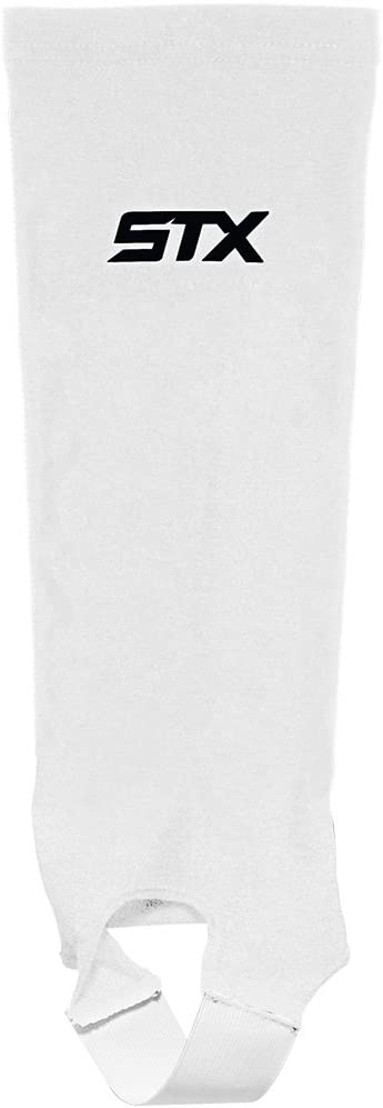 STX Field Hockey Shin Guard Sleeve, White, One Size : Field Hockey Shin Guards : Sports & Outdoors