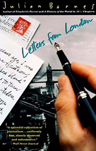 book cover of Letters from London
