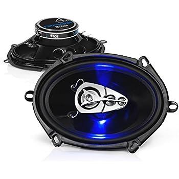 "SOLD BY PAIR Blaupunkt GTX570  5/""x 7/"" 4-WAY 360W Power Car Audio Speaker"