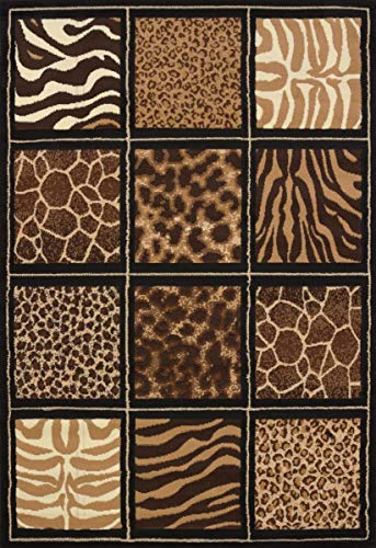 United Weavers of America Legends Collection Safari Square Rug, 5'3