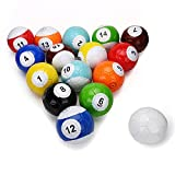 16 Pcs Gaint Snookball Snook Ball Snooker Street Soccer Ball Game Huge Billiards Pool Football Sport Toy Poolball
