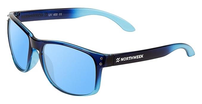 NORTHWEEK Bold Gafas de sol, Azul, 52 Unisex: Amazon.es ...