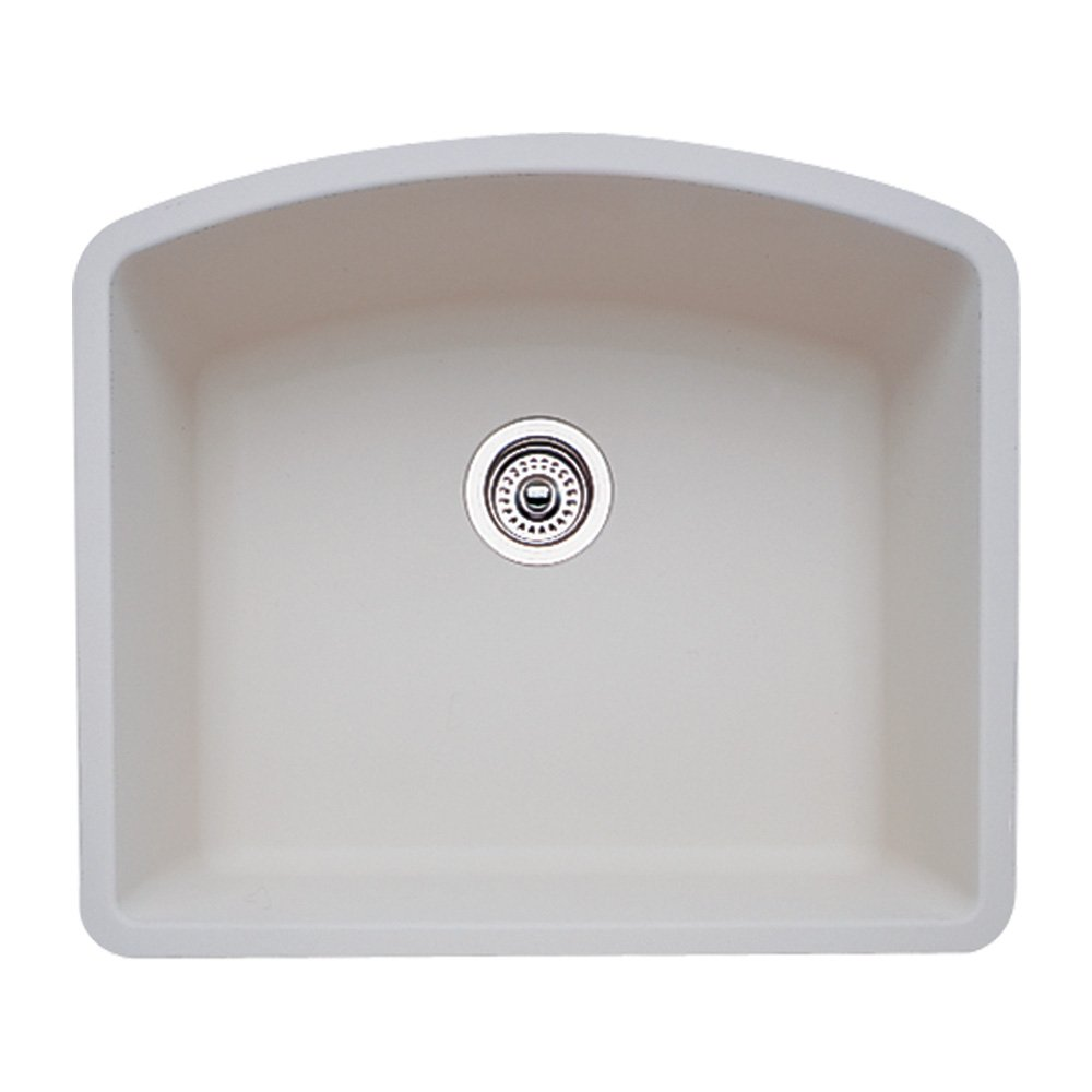 Delightful Blanco 511 710 Diamond 24 Inch By 20 13/16 Inch Single Bowl Kitchen Sink,  Biscuit Finish     Amazon.com