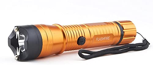 Monster FlashFire Dual-Spark Stun Gun Flashlight, 16 Million Volts, Ultra Bright LED Bulb, Rechargeable