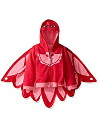 Pj Masks girls Little Girls Owlette Hoodie W/ Wing Cape