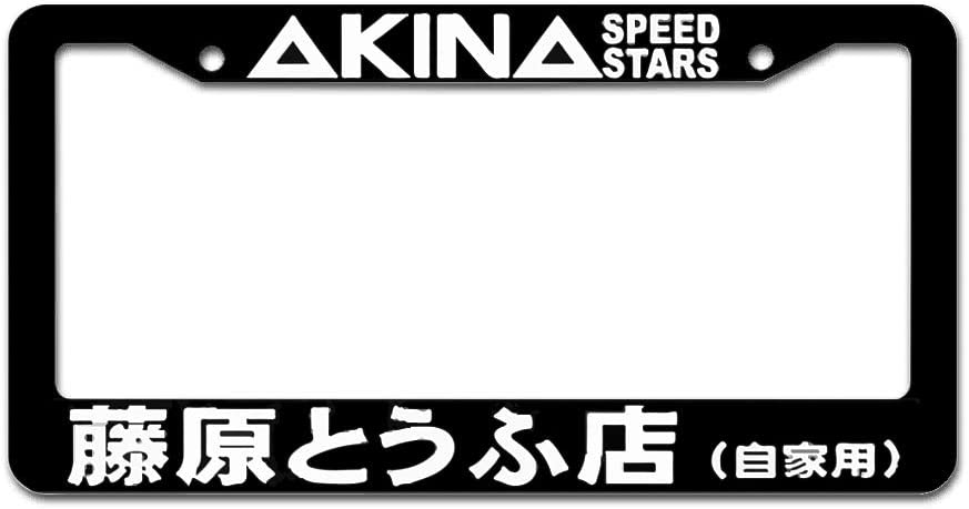 License Plate Frame Decorative Aluminum License Plate Cover and Screws for US Vehicles 自家用 Fairyshop 藤原とうふ店