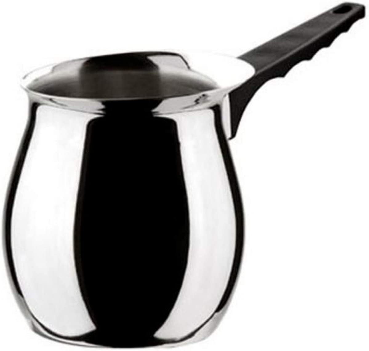MIU France Polished Stainless Steel Milk Warmer 20-Ounces 3340