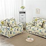 RUGAI-UE Sofa Slipcover sofa full cover sofa cover full sofa cushion sofa cloth covers four non slip,Four seater 235-310cm,Fashion appeal