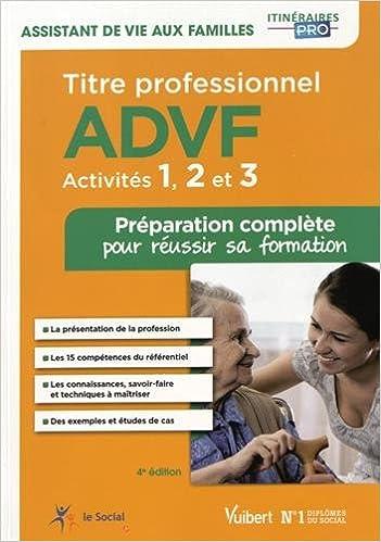 Titre Professionnel Advf Activites 1 A 3 Preparation Complete