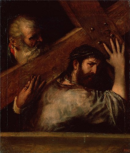 Oil Painting 'Titian (Tiziano Vecellio)_1560s_Carring Of The Cross', 20 x 24 inch / 51 x 60 cm , on High Definition HD canvas prints is for Gifts And Dining Room, - Sunglasses Academy Oakley